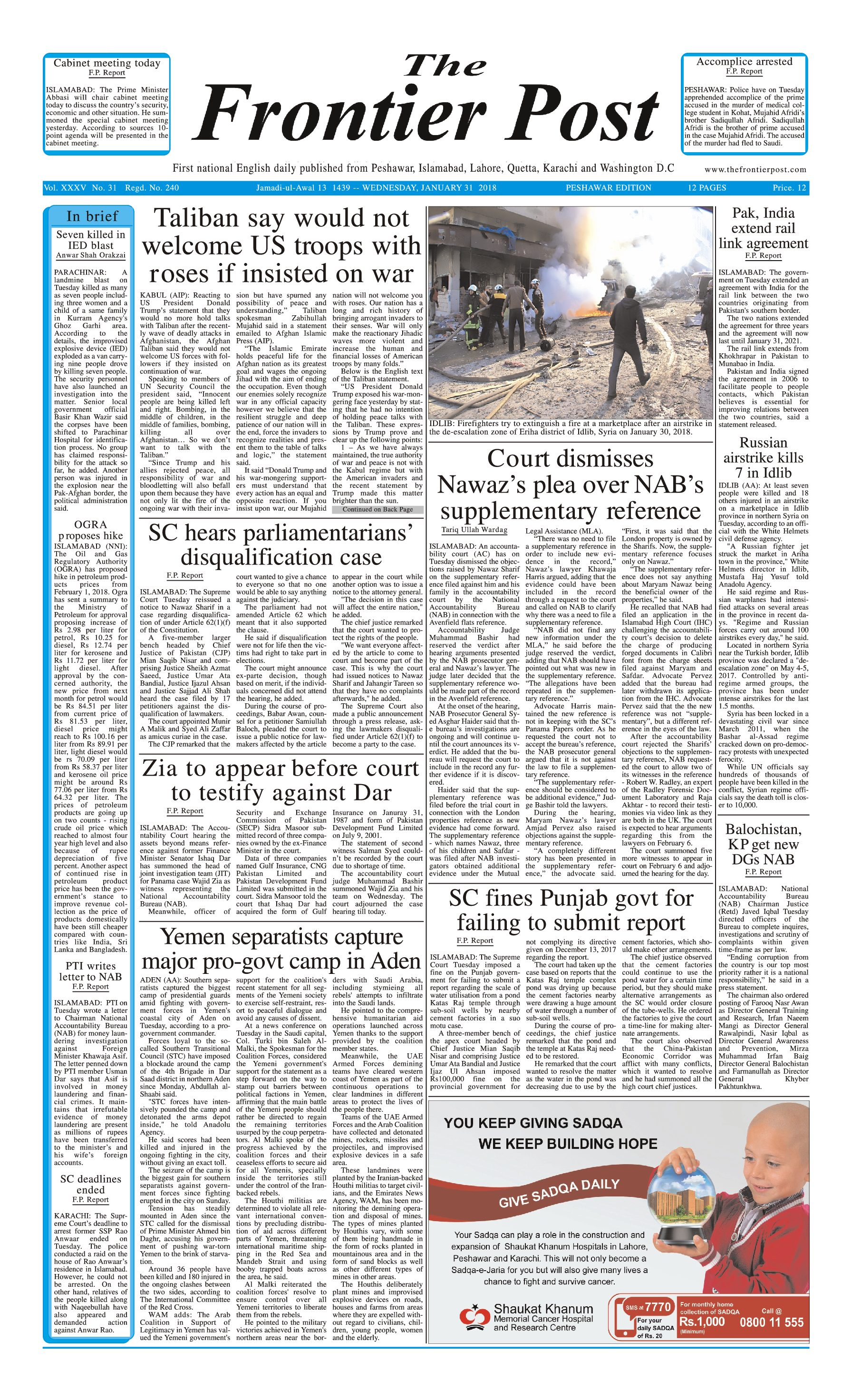 Front Page 31-1