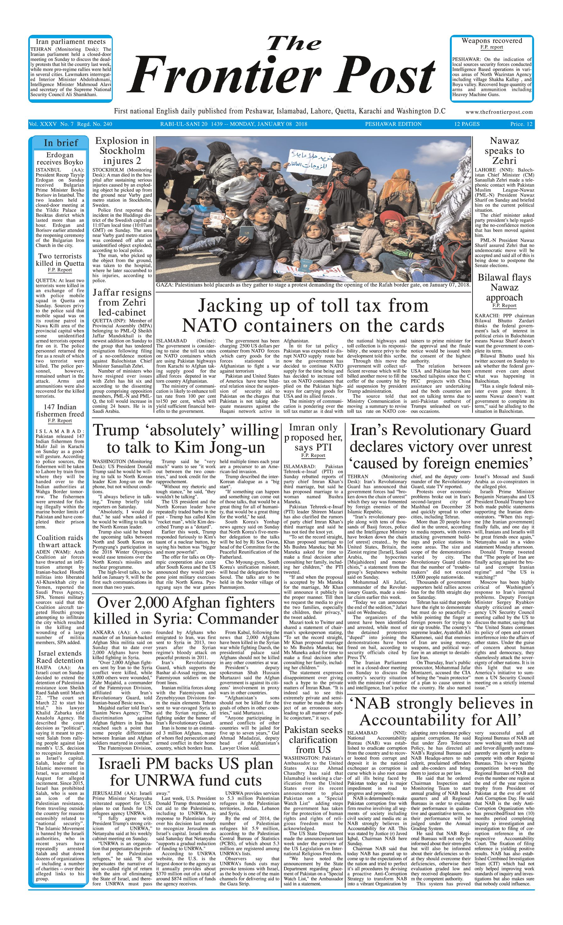 Front Page 8-1