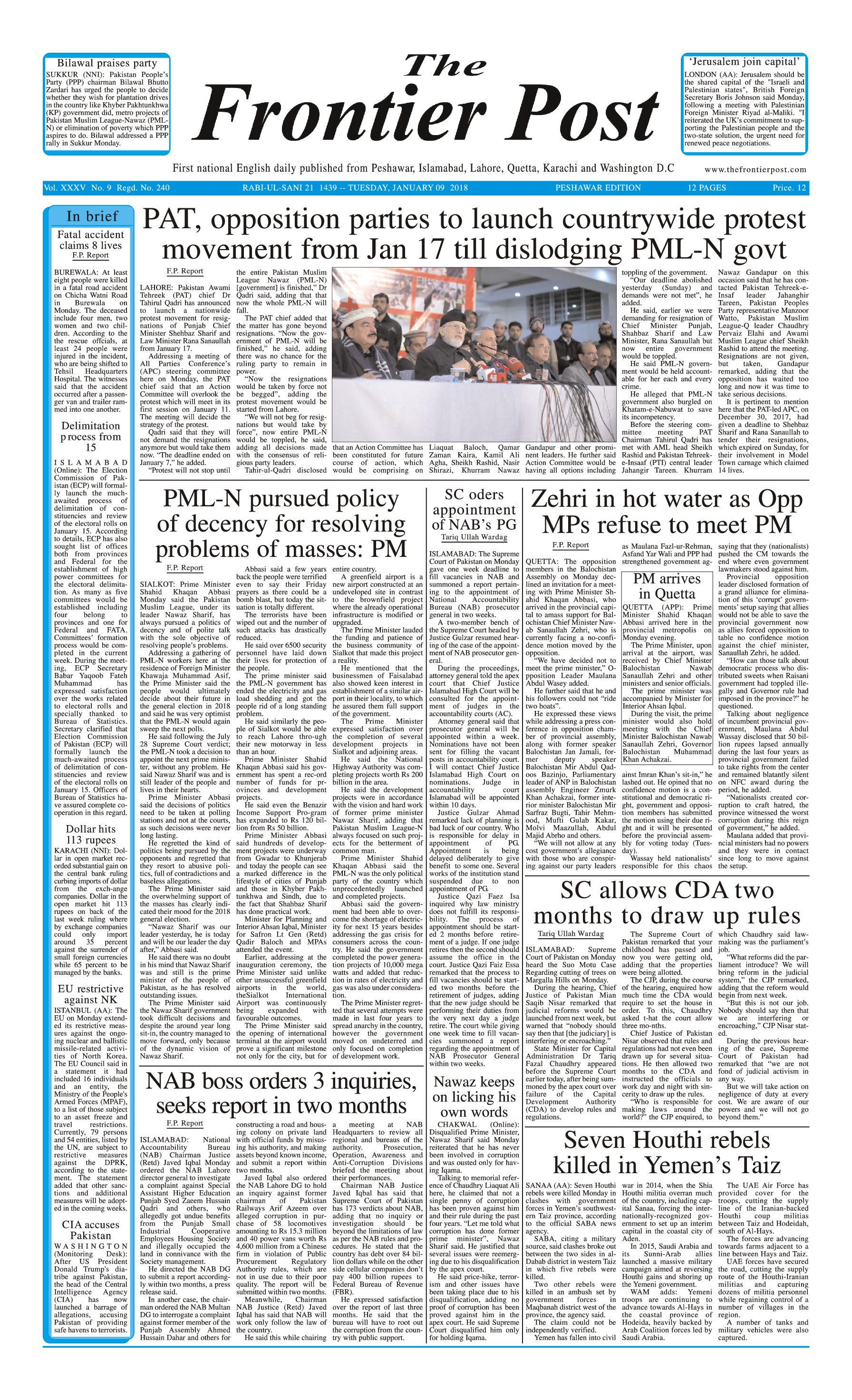 Front Page 9-1