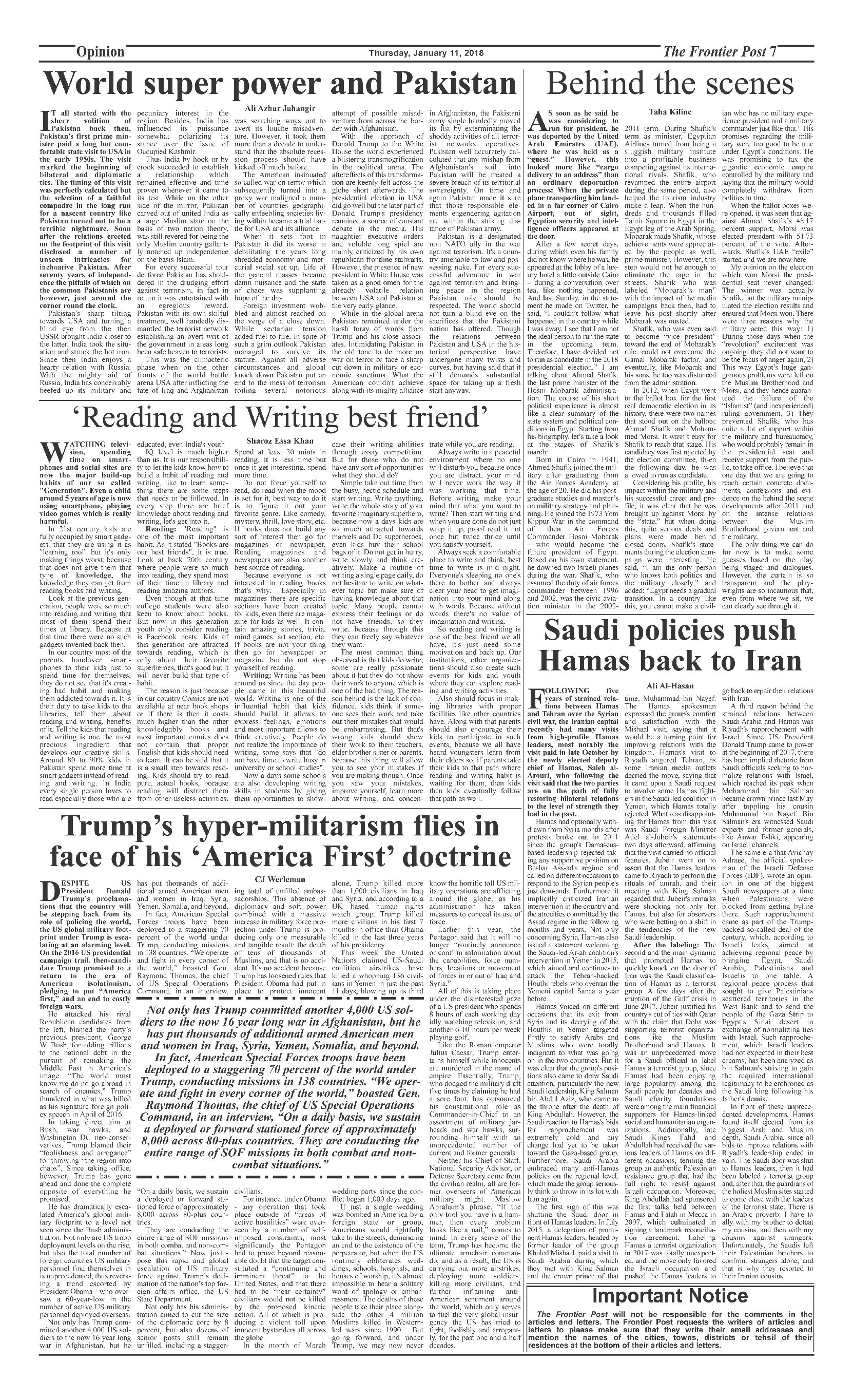 Opinion Page 11-1