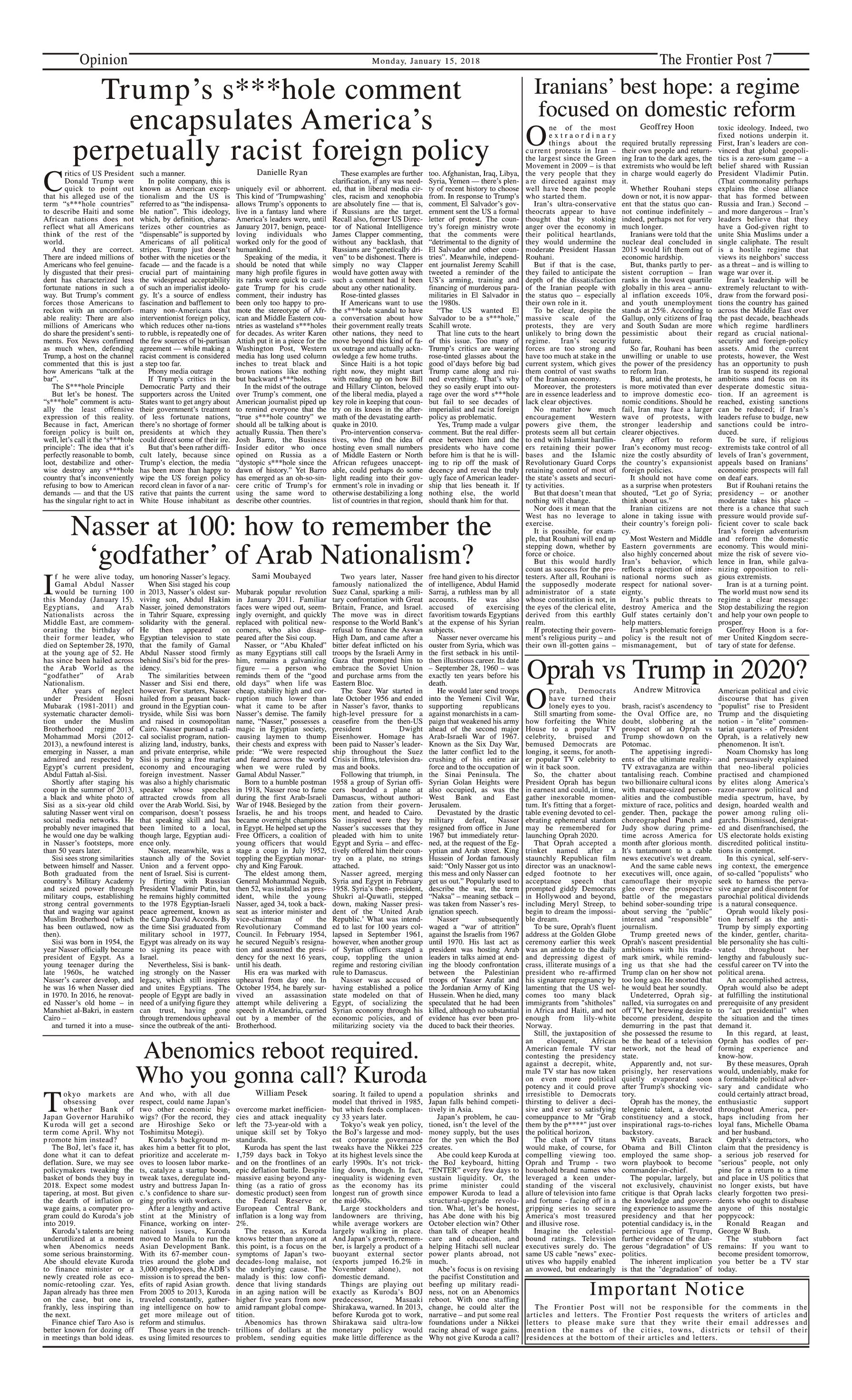 Opinion Page 15-1