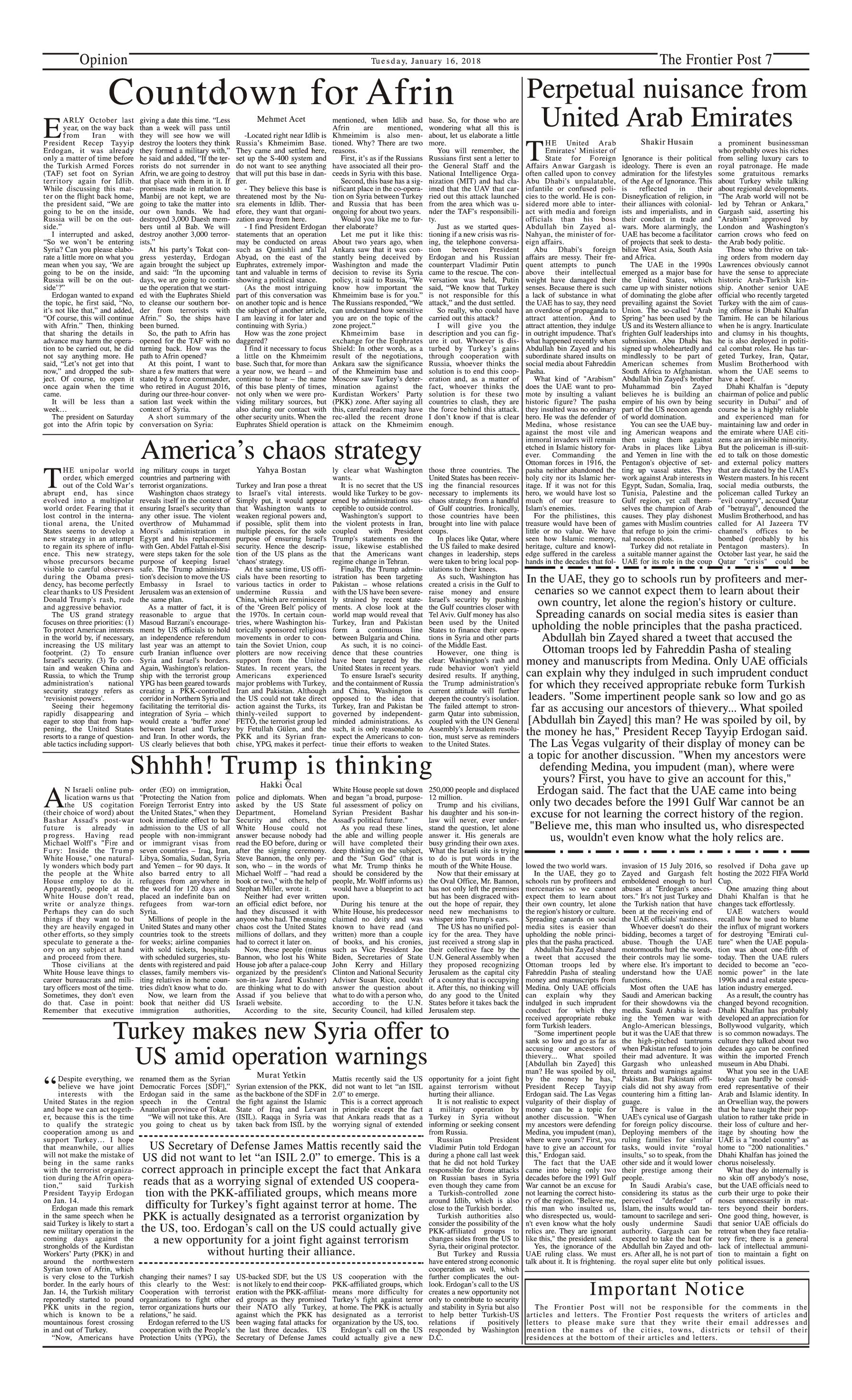 Opinion Page 16-1