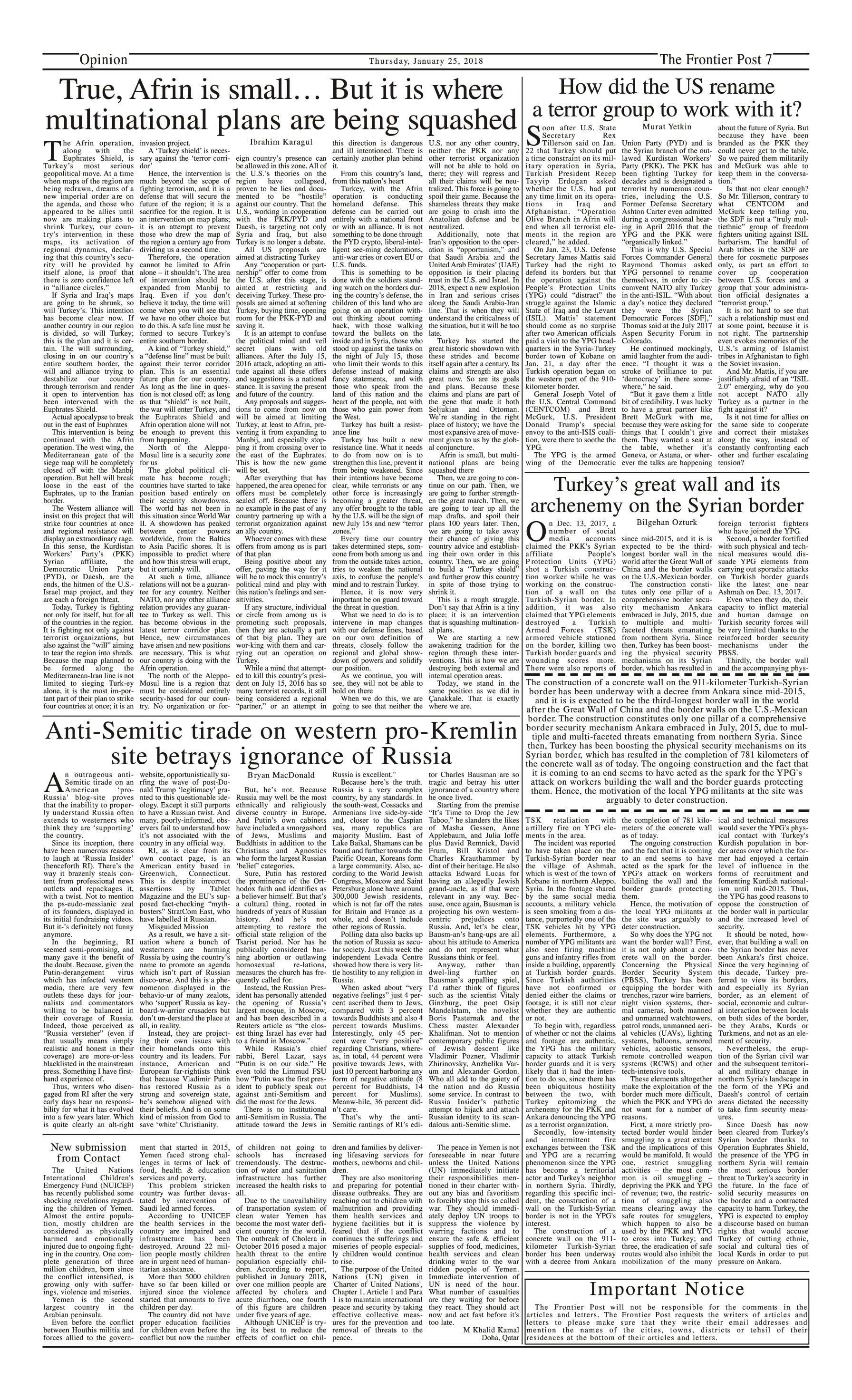 Opinion Page 25-1