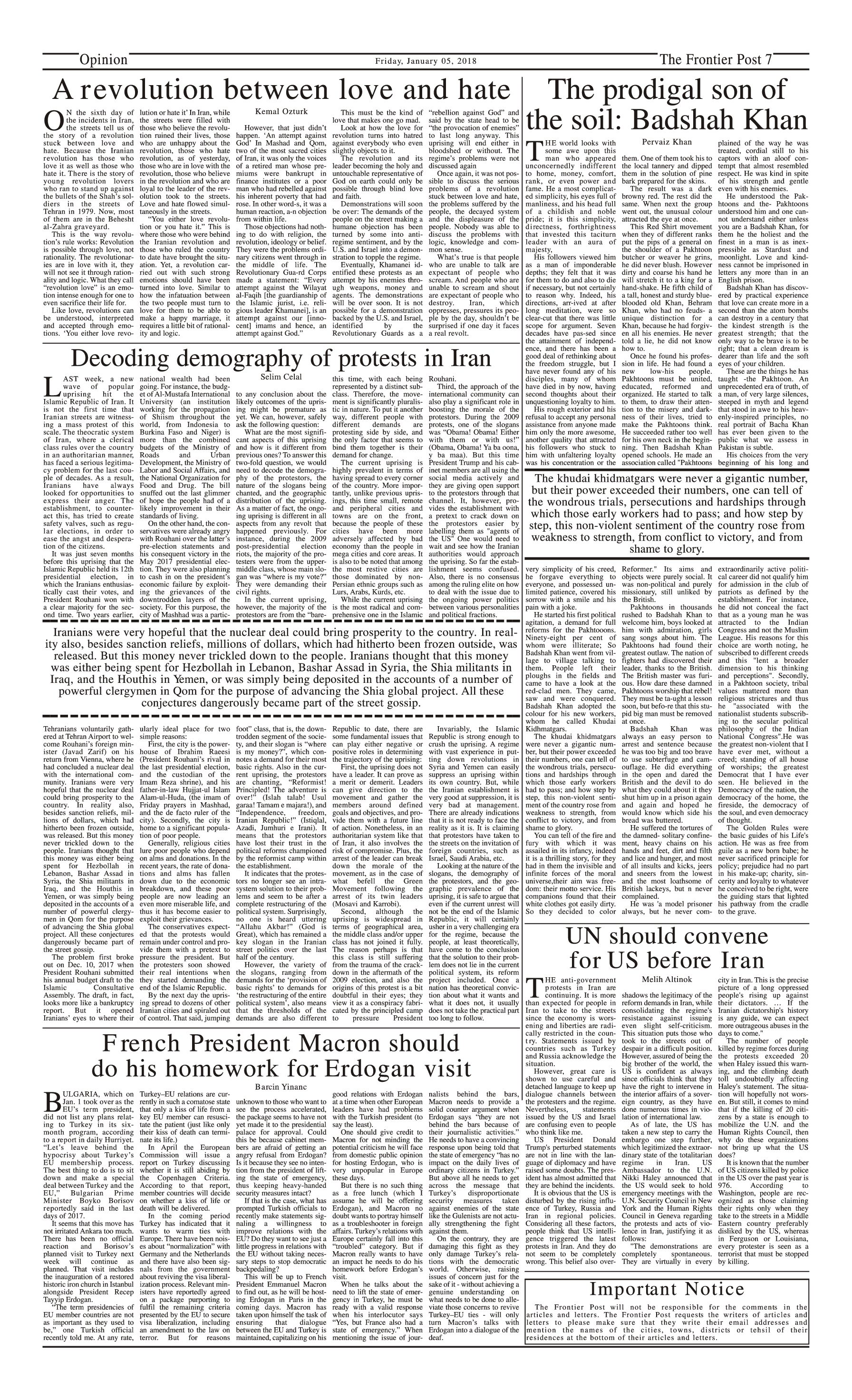 Opinion Page 5-1
