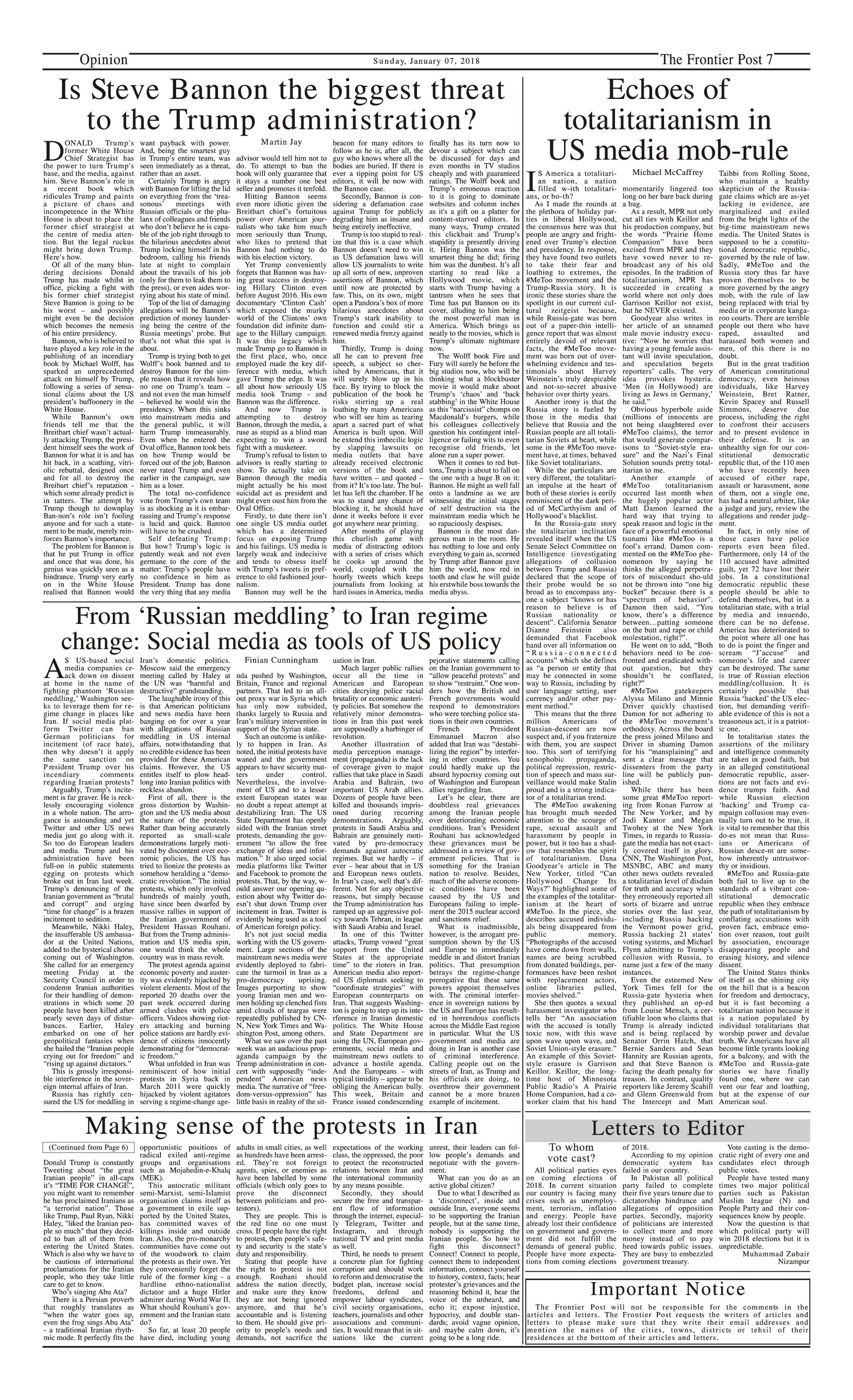 Opinion Page 7-1