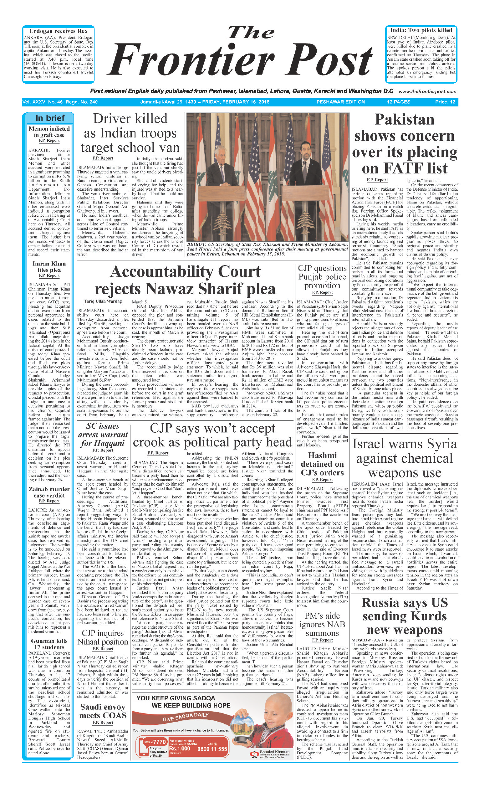 Front Page 16-02