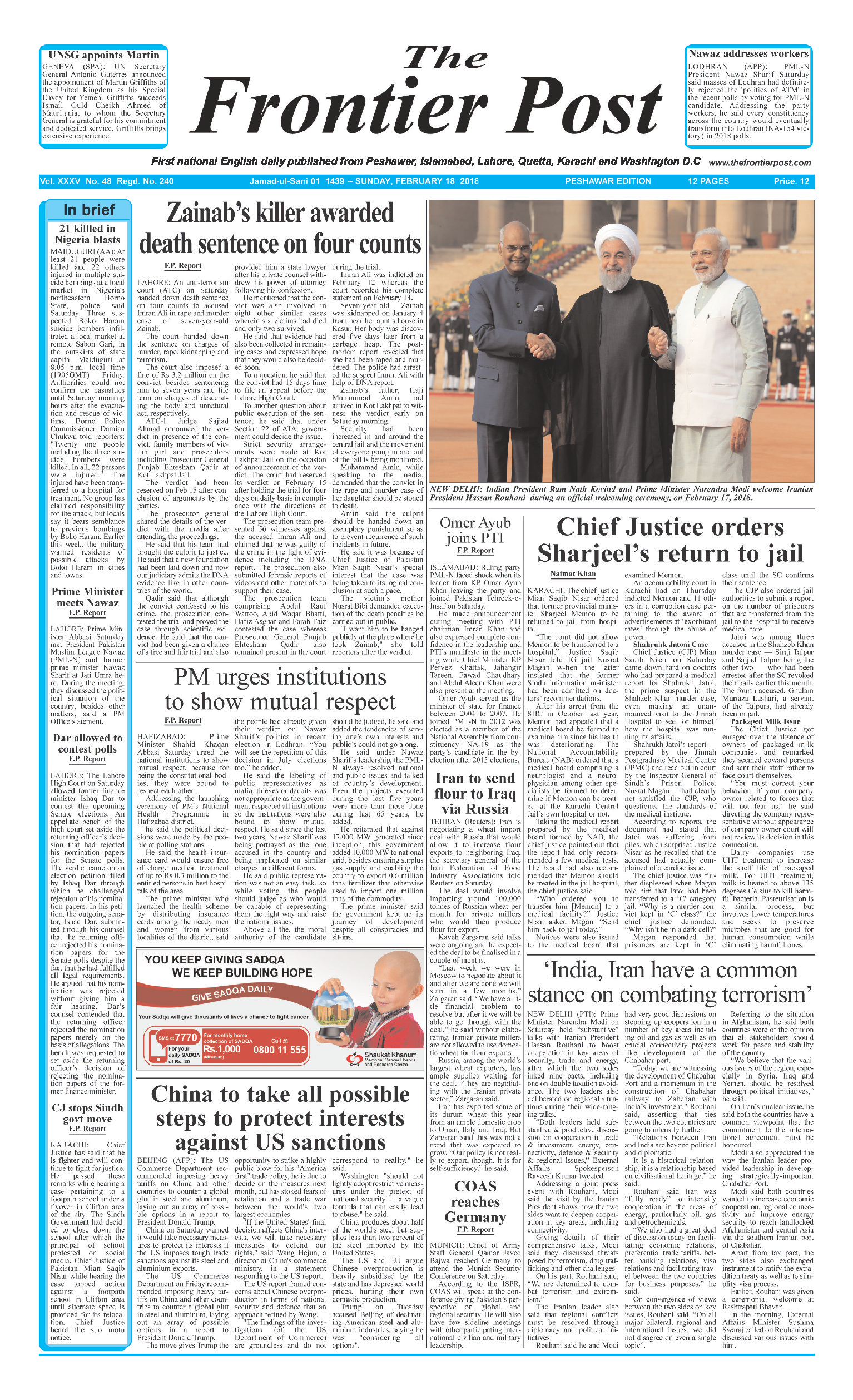 Front Page 18-02