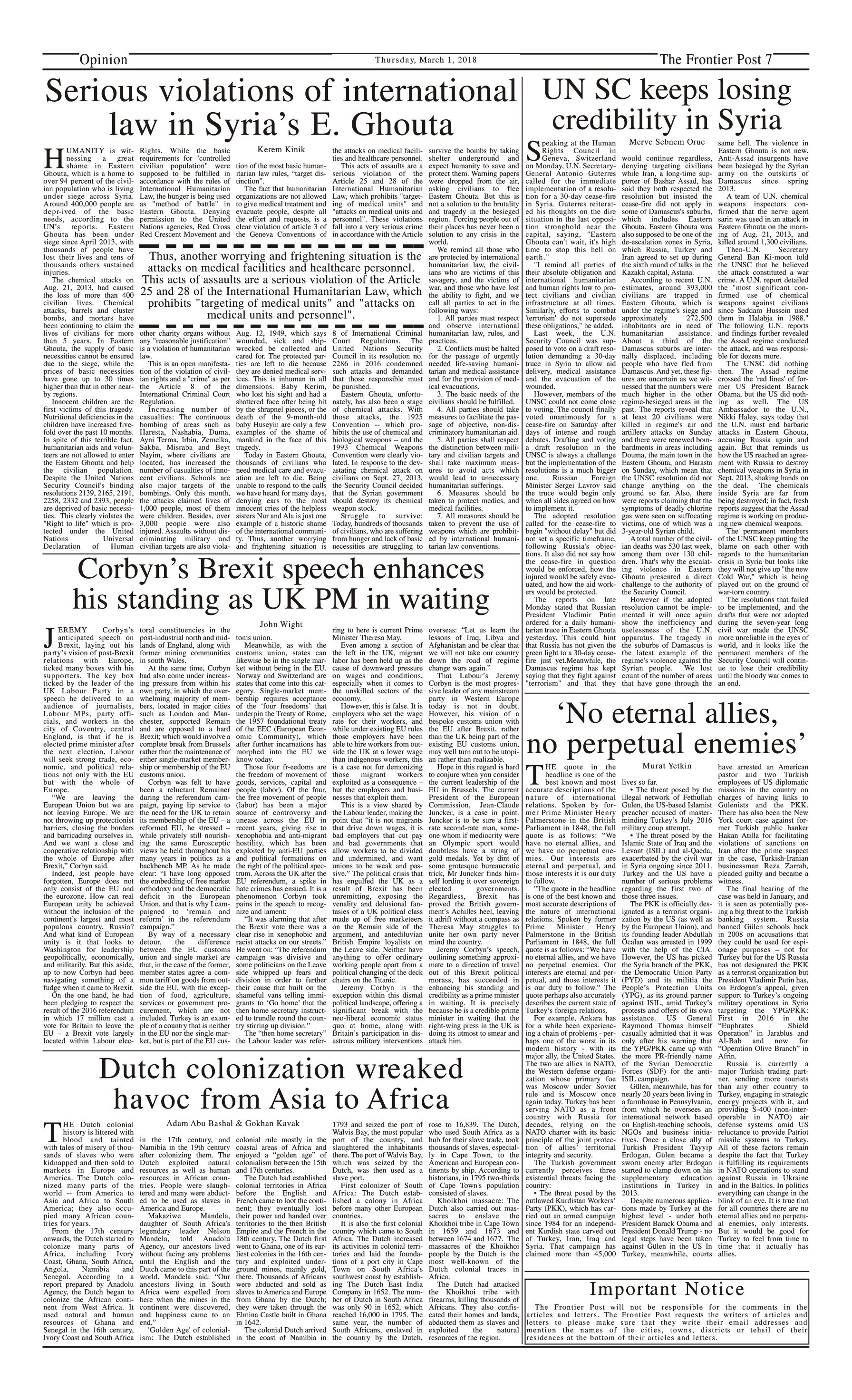 Opinion Page 1-3