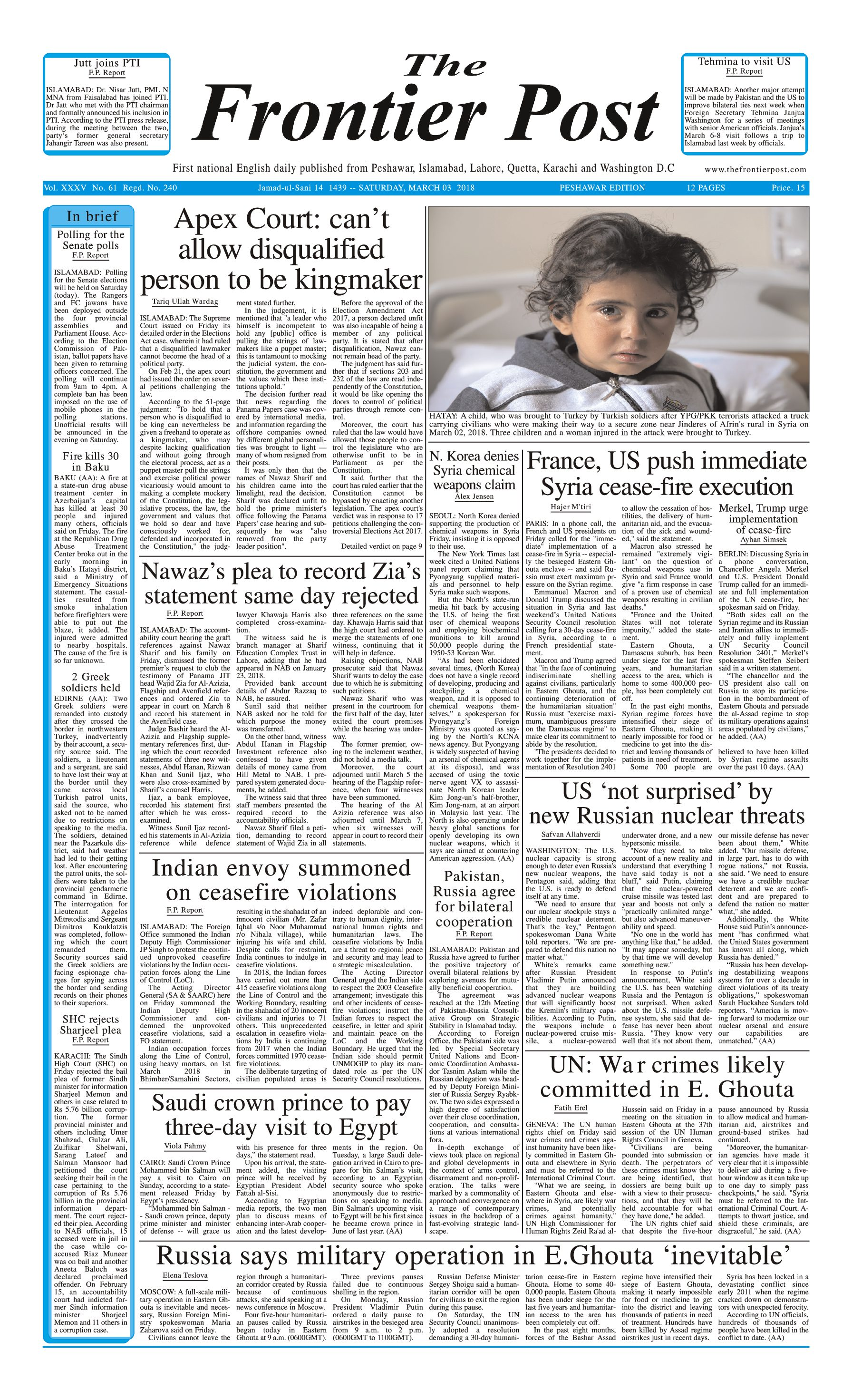 Front Page 3-3