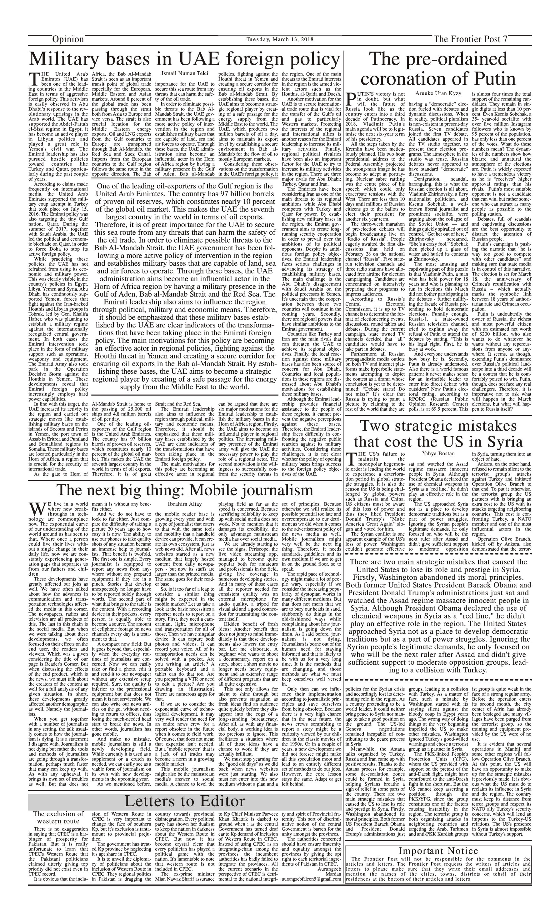 Opinion Page 13-3