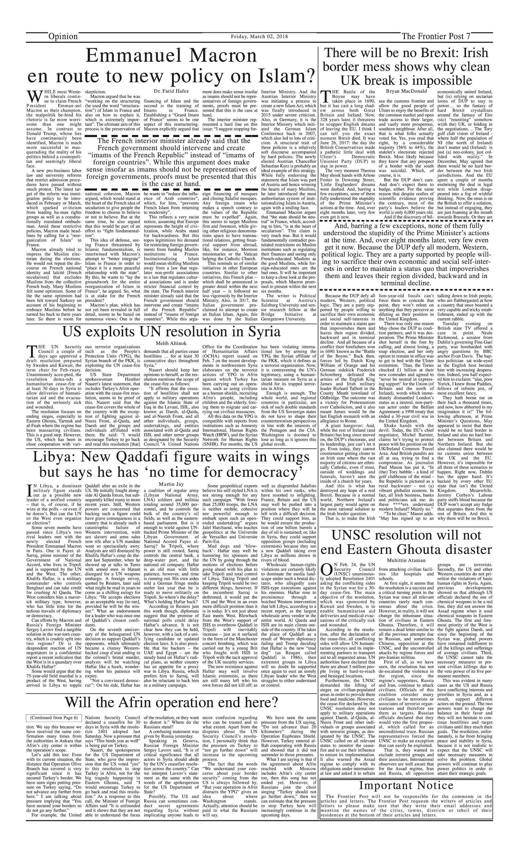 Opinion Page 2-3