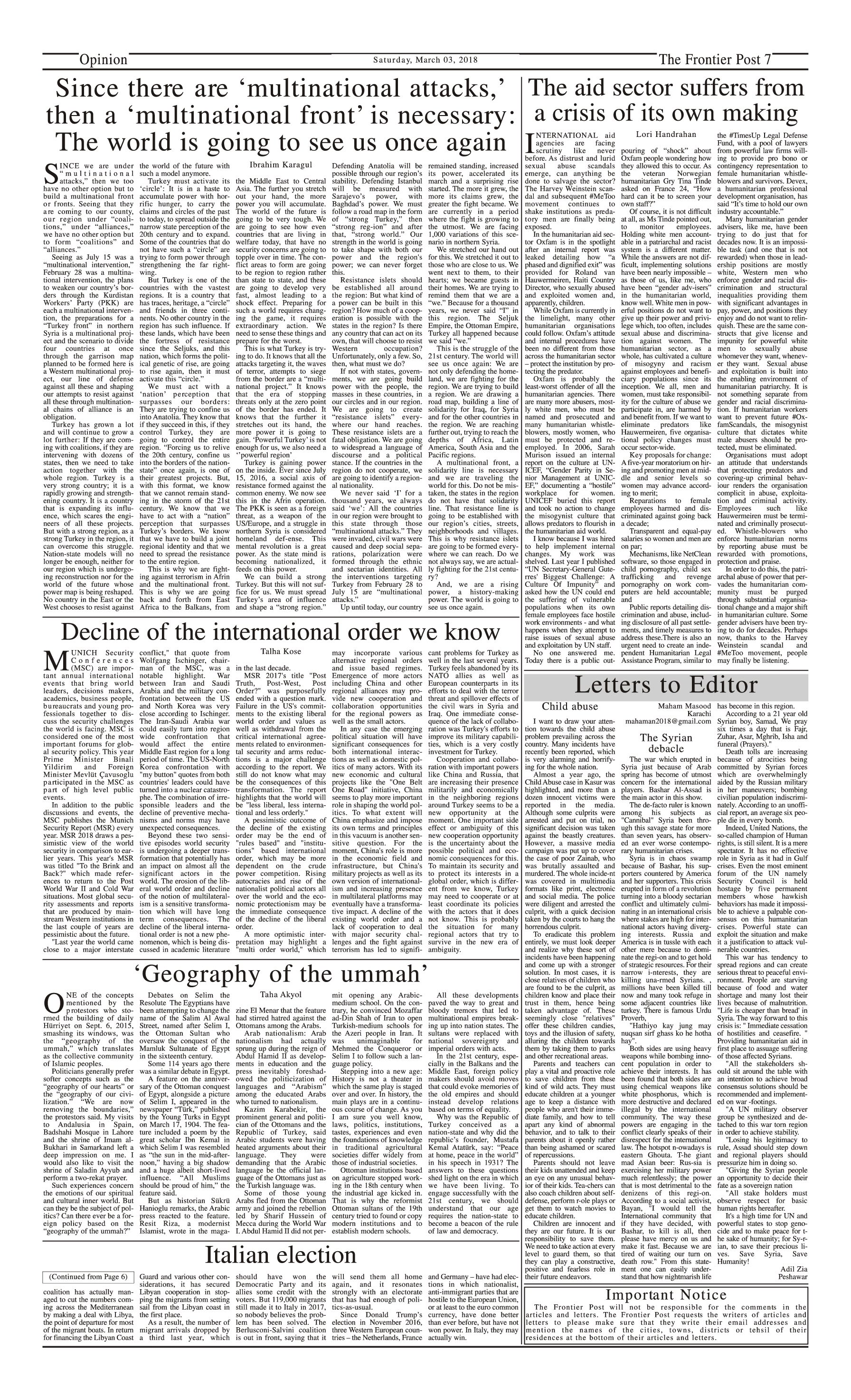 Opinion Page 3-3