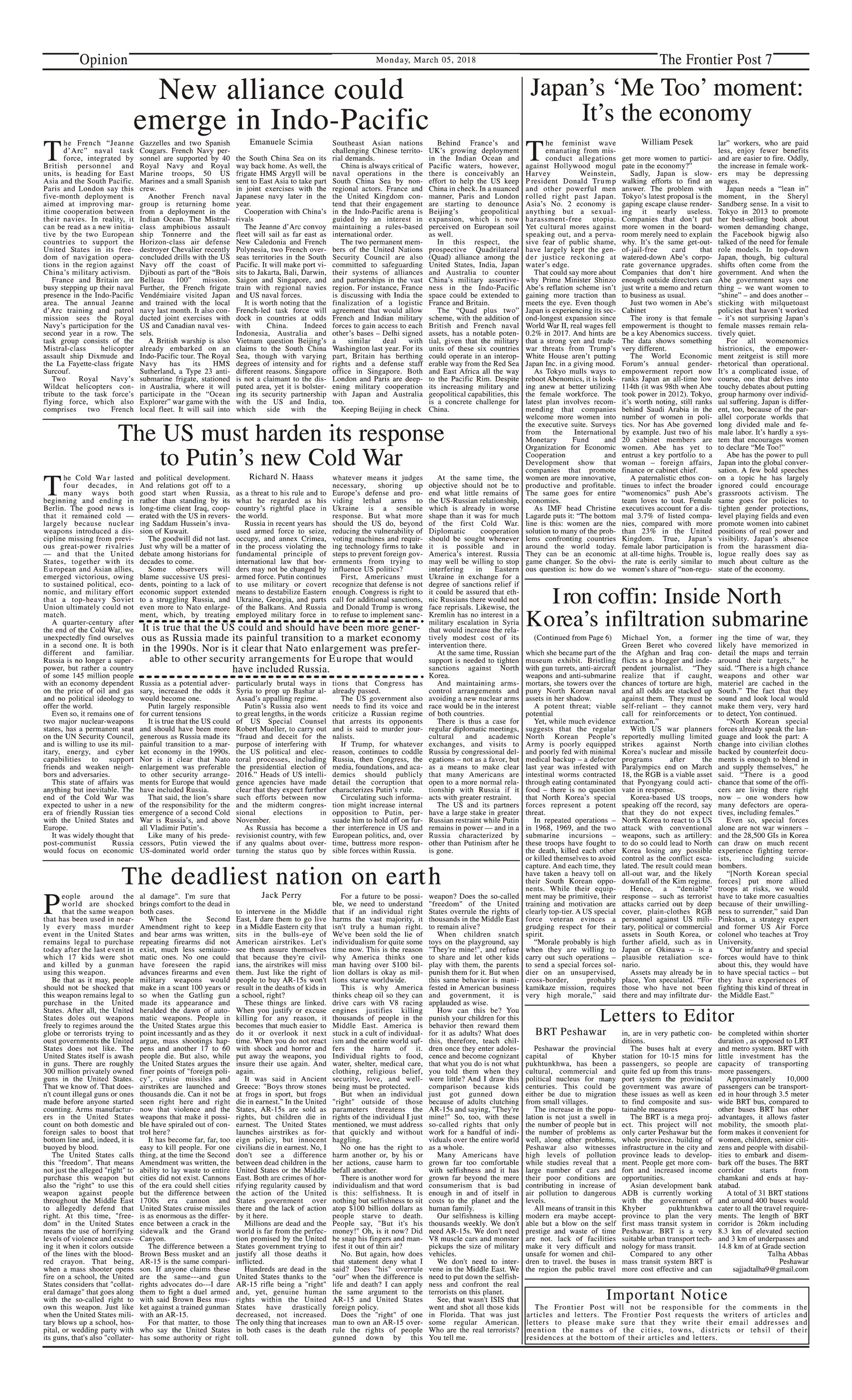 Opinion Page 5-3