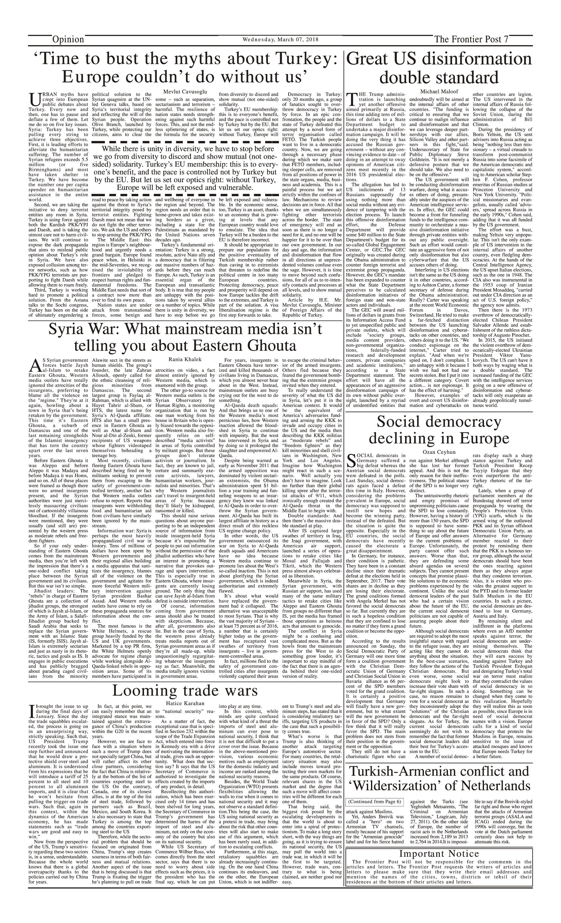 Opinion Page 7-3