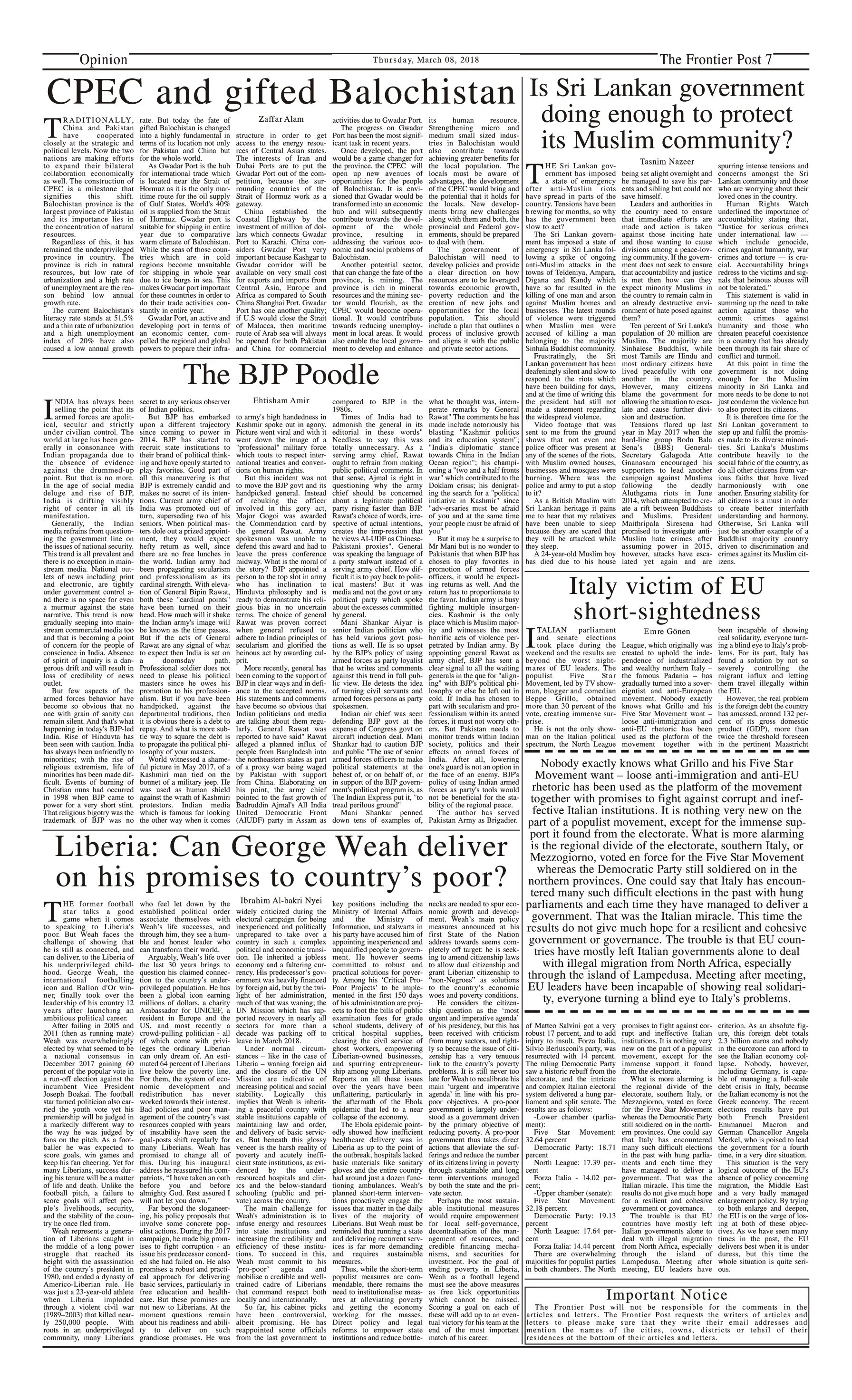 Opinion Page 8-3