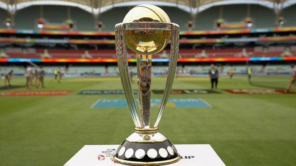 Image result for cricket world cup trophy