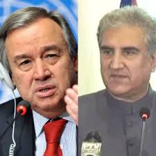 FM Qureshi, António Guterres to discuss India's human rights violations in occupied Kashmir