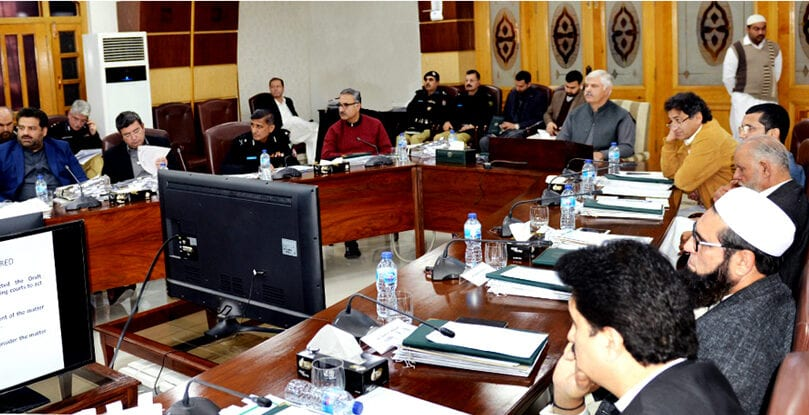 CM directs construction of water courses in GZD command area