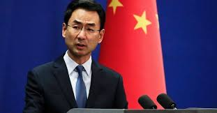 Chinese Foreign Ministry's Spokesperson Geng Shuang