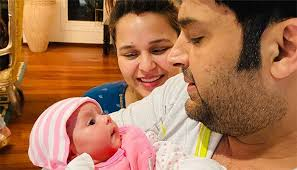 Comedian Kapil Sharma shares first photo of his daughter