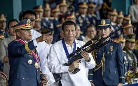Duterte threatens to end US military pact
