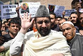 Mirwaiz urges Kashmiris to observe protest day