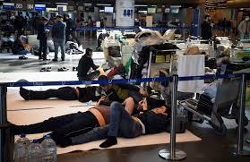 Sealed borders leave migrants stranded in Moscow's airports